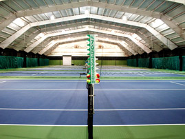 Indoor tennis courts (photo 1)